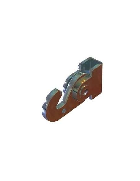 Gancio J-Rail Max - 40 kg per barra 4x4mm