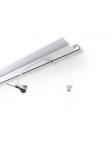 Multirail Flat con lampadina(veduto separatamente)
