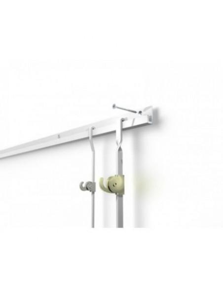 Gancio J-Rail Max - 100 kg per barra 4x10mm